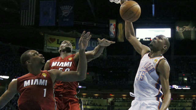 Miami Heat vs. Oklahoma City Thunder (Finals, Game #2)