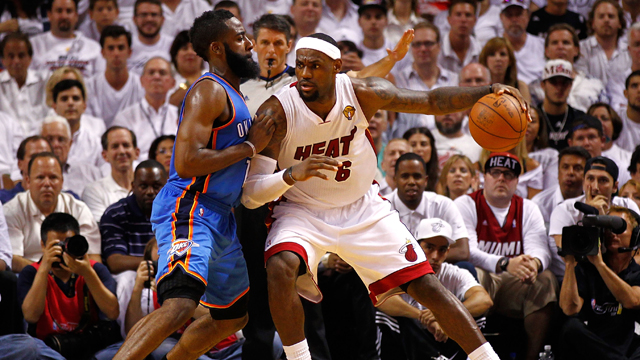 Oklahoma City Thunder vs. Miami Heat (Finals, Game #5)