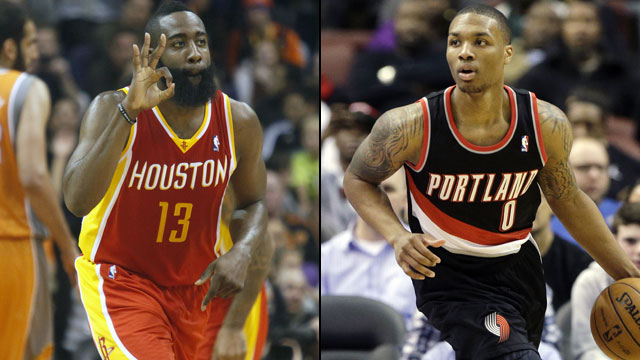 Houston Rockets vs. Portland Trail Blazers