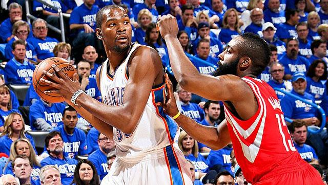 Oklahoma City Thunder vs. Houston Rockets (First Round, Game 3) (re-air)