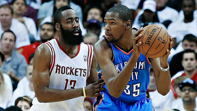 Oklahoma City Thunder vs. Houston Rockets (First Round, Game 6) (re-air)