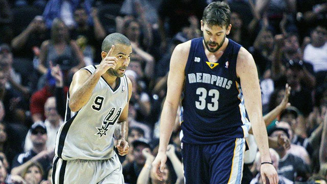 Memphis Grizzlies vs. San Antonio Spurs (Western Conference Finals Game 2) (re-air)