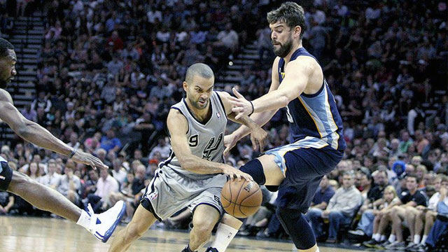Memphis Grizzlies vs. San Antonio Spurs (Western Conference Finals Game 1) (re-air)