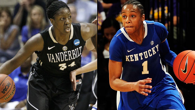 Vanderbilt vs. #7 Kentucky (Quarterfinal #3 - Outermarket): SEC Women's Basketball Tournament