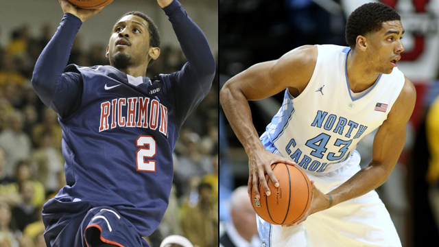 Richmond vs. #24 North Carolina (Exclusive Semifinal #1): Hall of Fame Tournament