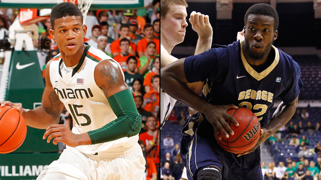 Miami (FL) vs. George Washington (Quarterfinal #1): DirecTV Wooden Legacy
