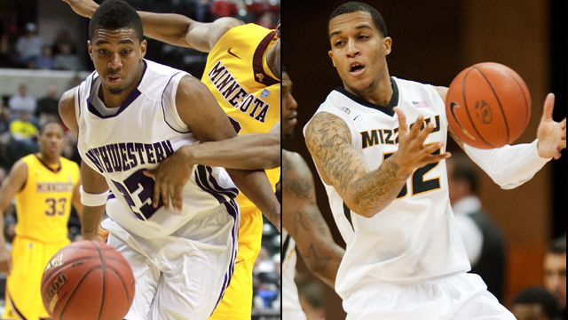 Northwestern vs. Missouri: Continental Tire Las Vegas Invitational