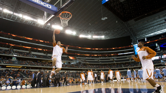 North Carolina vs. Texas  - 12/19/2009