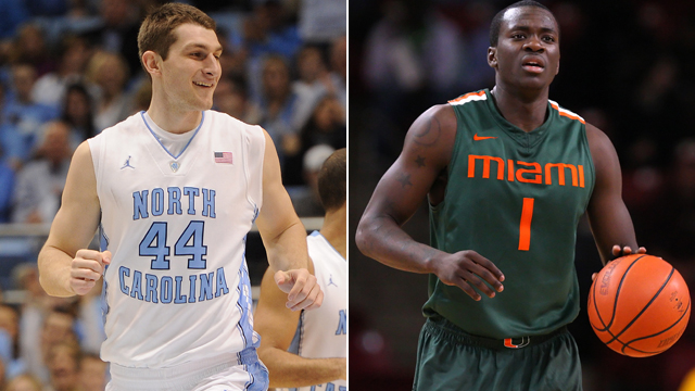 #7 North Carolina vs. Miami (FL)