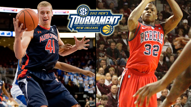 #10 Auburn vs. #7 Mississippi (First Round): SEC Tournament