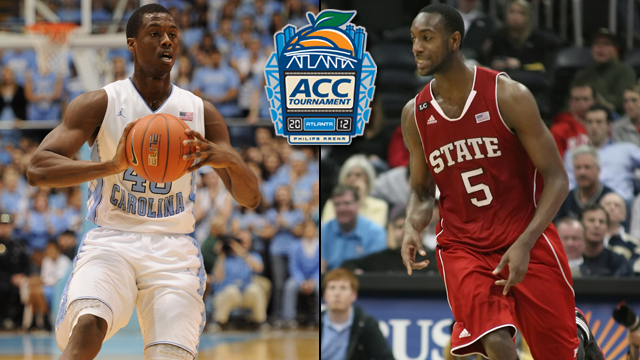 #5 NC State vs. #1 North Carolina (Semifinal #1): ACC Tournament