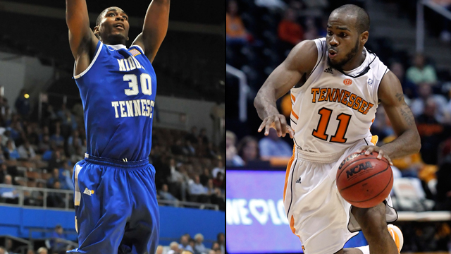 #4 Middle Tennessee State vs. #1 Tennessee (Second Round): 2012 NIT