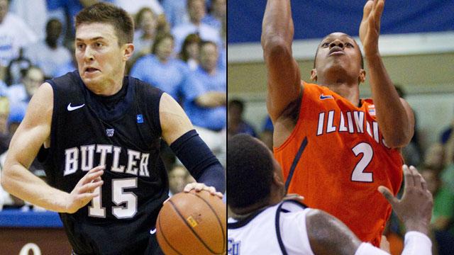 Butler vs. Illinois (Championship): Maui Invitational