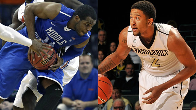 Vanderbilt vs. Middle Tennessee State: Holiday Hoops