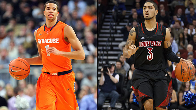 745223 Syracuse Orange vs Louisville Cardinals: Top Ranked Teams Dominate With Defense
