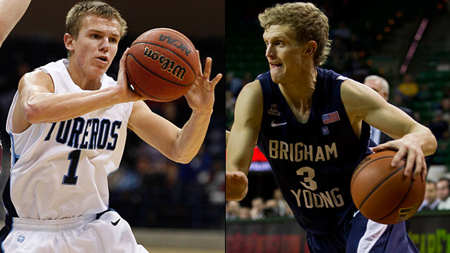 San Diego vs. BYU (Quarterfinal #2): West Coast Conference Men's Basketball Championship