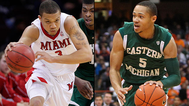 Miami (Ohio) vs. Eastern Michigan (Second Round, Game 2): MAC Men's Basketball Tournament