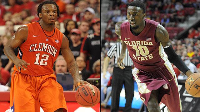 Clemson vs. Florida State (First Round, Game 4): ACC Men's Basketball Tournament