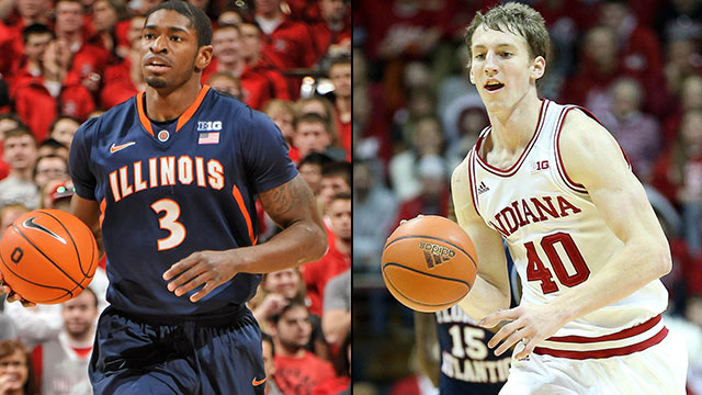 Illinois vs. #3 Indiana (Quarterfinal #1): Big Ten Men's Basketball Tournament