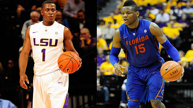 LSU vs. #13 Florida (Quarterfinal #1): SEC Men's Basketball Tournament