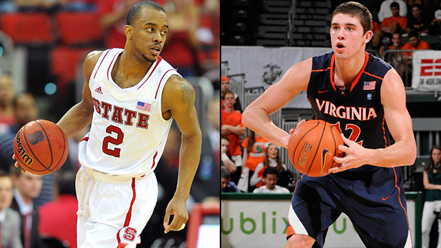 NC State vs. Virginia (Quarterfinal #2): ACC Men's Basketball Tournament