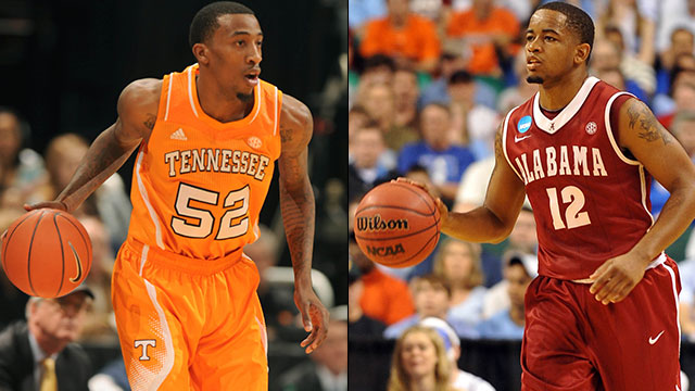 Tennessee vs. Alabama (Quarterfinal #2): SEC Men's Basketball Tournament