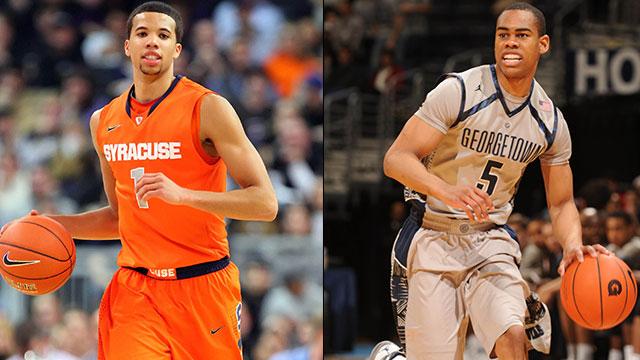 #19 Syracuse vs. #5 Georgetown (Semifinal #1): BIG EAST Men's Basketball Championship