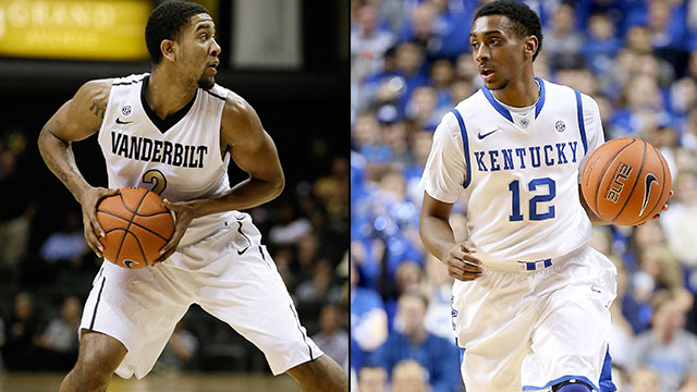 Vanderbilt vs. Kentucky (Quarterfinal #3): SEC Men's Basketball Tournament