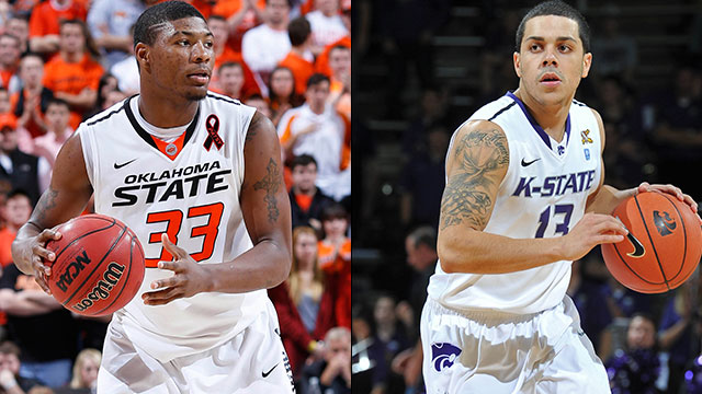#14 Oklahoma State vs. #11 Kansas State (Semifinal #2): Big 12 Men's Basketball Championship