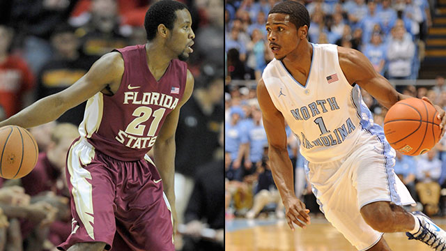 Florida State vs. North Carolina (Quarterfinal #4): ACC Men's Basketball Tournament