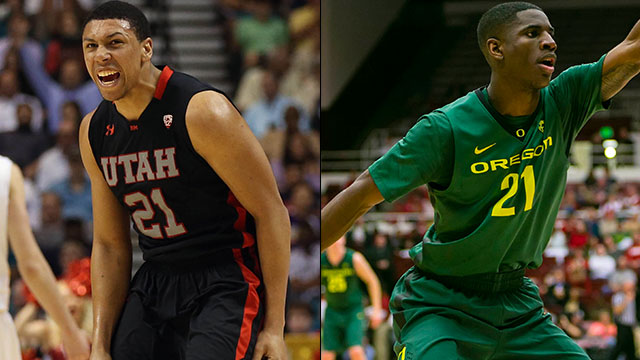 Utah vs. Oregon (Semifinal #2): PAC-12 Men's Basketball Tournament