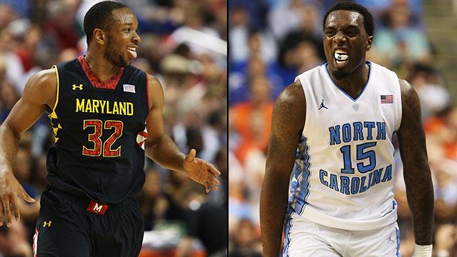Maryland vs. North Carolina (Semifinal #2): ACC Men's Basketball Tournament