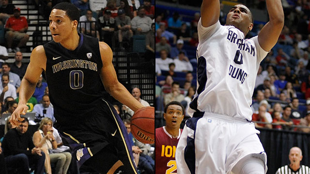 #6 Washington vs. #3 Brigham Young (First Round): 2013 NIT