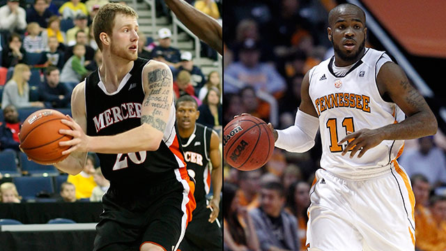 #7 Mercer vs. #2 Tennessee (First Round): 2013 NIT