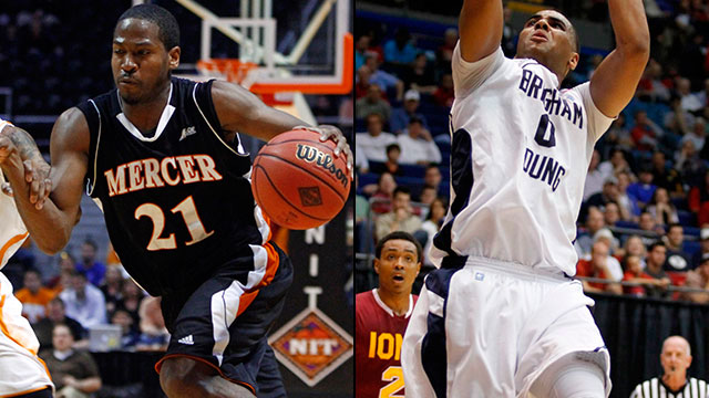 #7 Mercer vs. #3 Brigham Young (Second Round): 2013 NIT