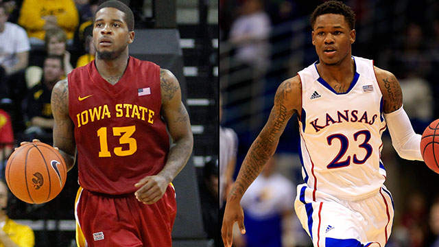 Iowa State vs. #7 Kansas (Semifinal #1): Big 12 Men's Basketball Championship