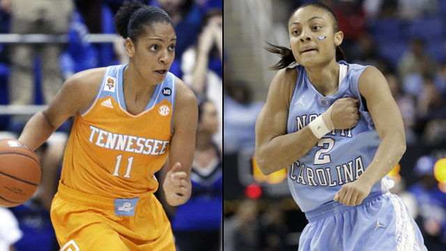 #4 Tennessee vs. #12 North Carolina