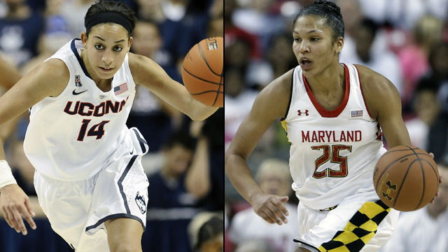 #1 Connecticut vs. #8 Maryland