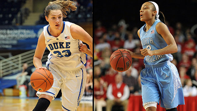 #5 Duke vs. #11 North Carolina