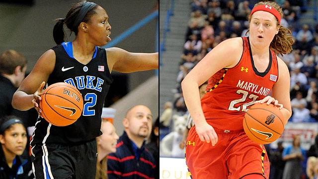 #5 Duke vs. #8 Maryland