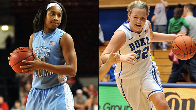 #15 North Carolina vs. #5 Duke
