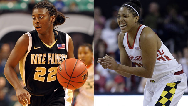Wake Forest vs. #10 Maryland (Quarterfinal #3 - Outermarket): ACC Women's Basketball Tournament