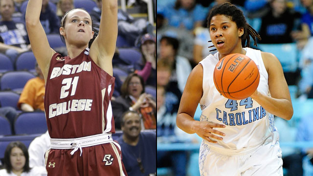 Boston College vs. #15 North Carolina (Quarterfinal #4): ACC Women's Basketball Tournament