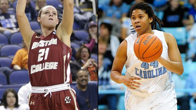 Boston College vs. #15 North Carolina (Quarterfinal #4): ACC Women's Basketball Tournament