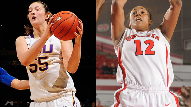 #22 LSU vs. #12 Georgia (Quarterfinal #4 - Outermarket): SEC Women's Basketball Tournament