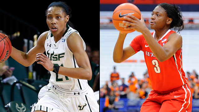 South Florida vs. Rutgers (Second Round, Game 2): BIG EAST Women's Basketball Championship