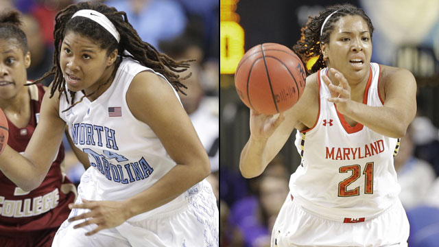 North Carolina vs. Maryland (Semifinal #2 - Outermarket): ACC Women's Basketball Tournament