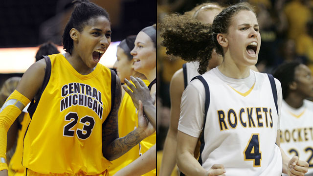 Central Michigan vs. Toledo (Semifinal #1): MAC Women's Basketball Championship