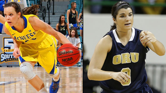 McNeese State vs. Oral Roberts (Exclusive Semifinal #1): Southland Women's Basketball Tournament