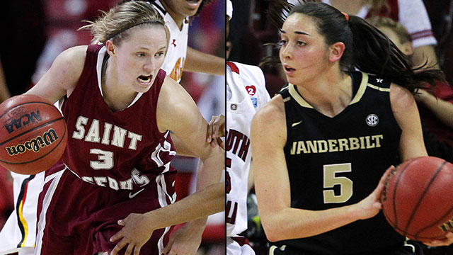 #9 St. Joseph's vs. #8 Vanderbilt (First Round): 2013 NCAA Women's Basketball Championship